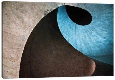 Concrete Wave Canvas Art Print
