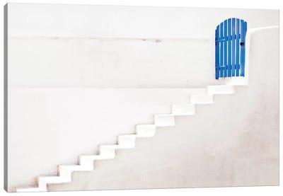 The Blue Gate Canvas Art Print