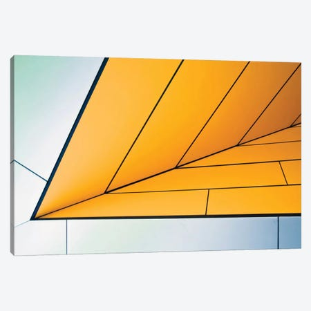 Yellow Dart 3-Piece Canvas #OXM1704} by Linda Wride Canvas Art