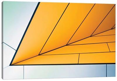 Yellow Dart Canvas Art Print