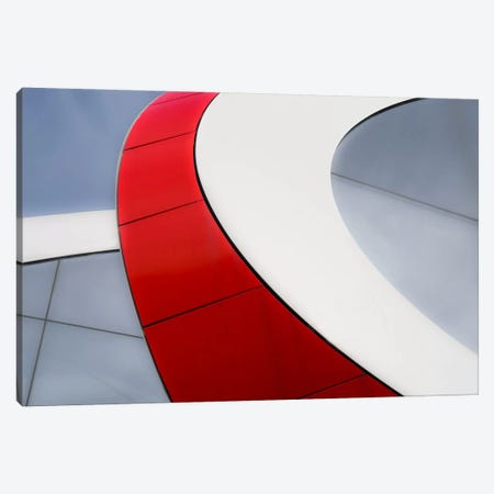 Red Bow Canvas Print #OXM1711} by Luc Vangindertael Canvas Art