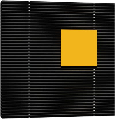 Yellow Square Canvas Art Print