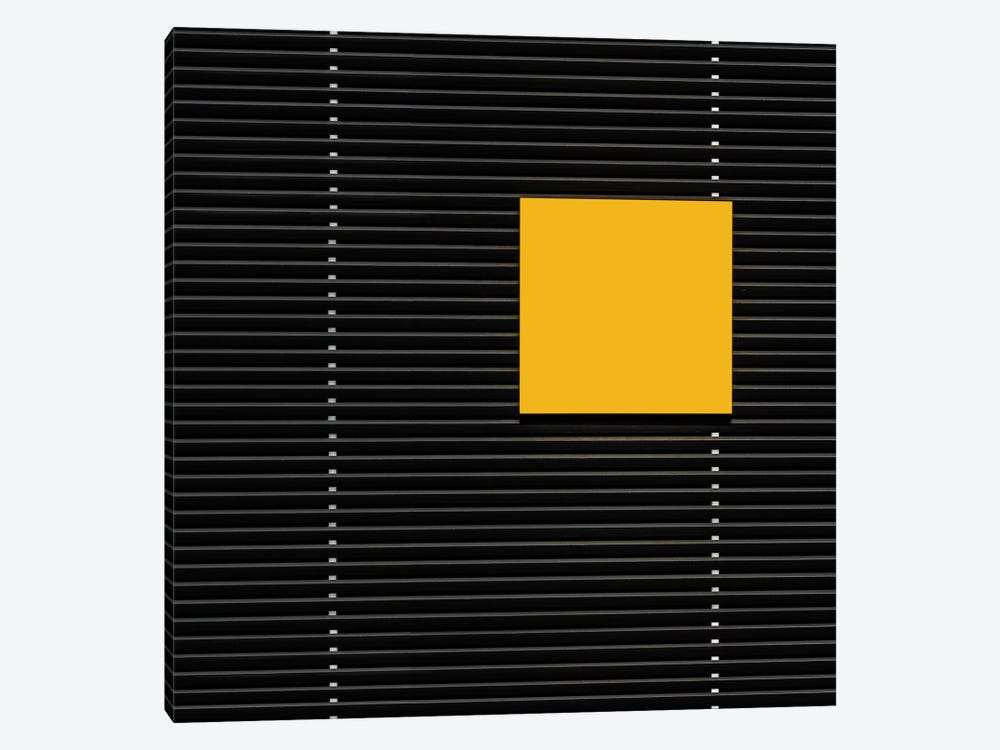 Yellow Square by Luc Vangindertael 1-piece Canvas Art