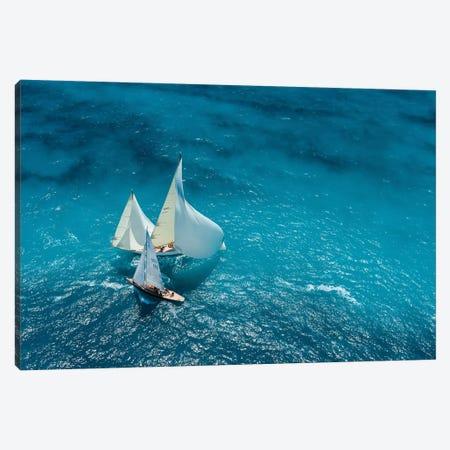 Croisement Bleu Canvas Print #OXM1734} by Marc Pelissier Canvas Print