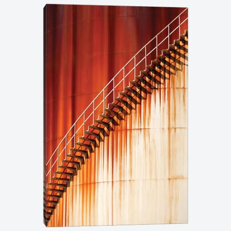 Art Stairways ... Canvas Print #OXM1743} by Marco Zeeman Canvas Print
