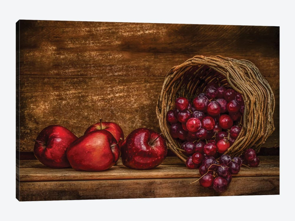 Red by Margareth Perfoncio 1-piece Canvas Print