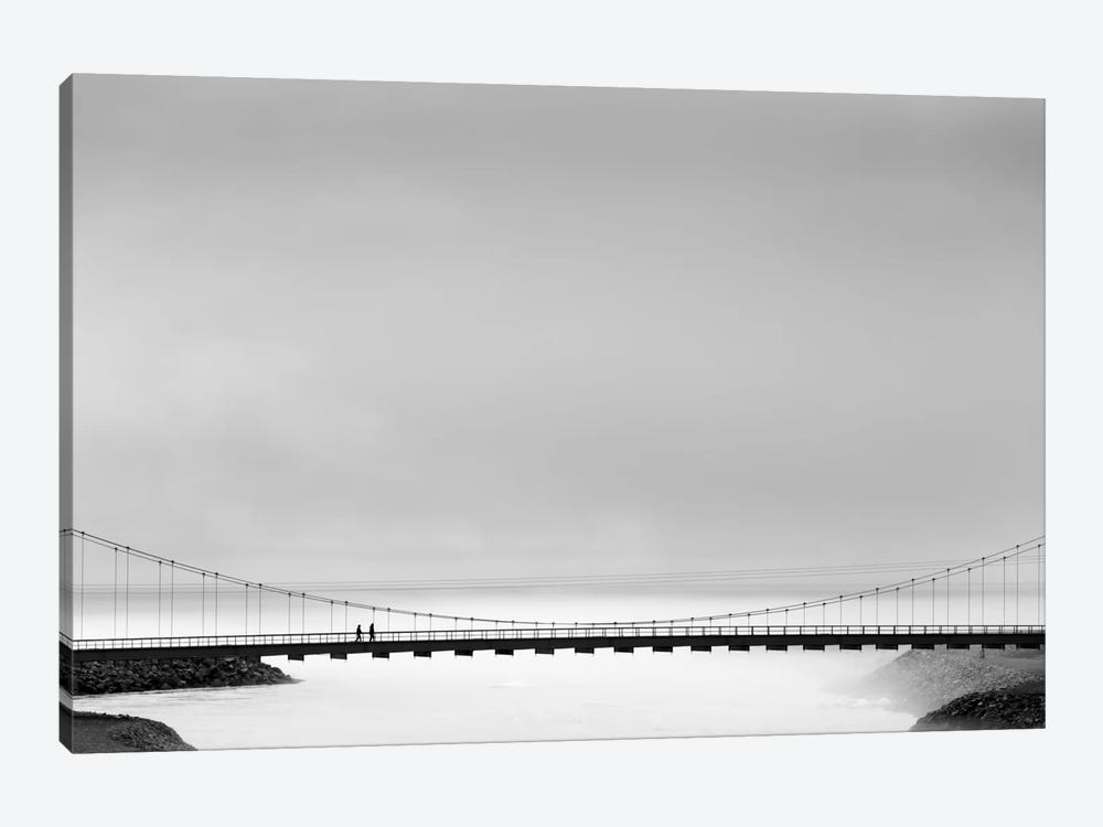 The Bridge by Markus Kühne 1-piece Canvas Artwork
