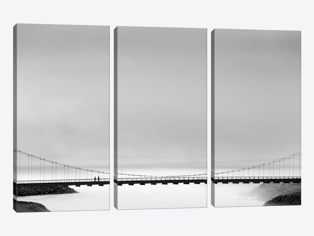 The Bridge by Markus Kühne 3-piece Canvas Art