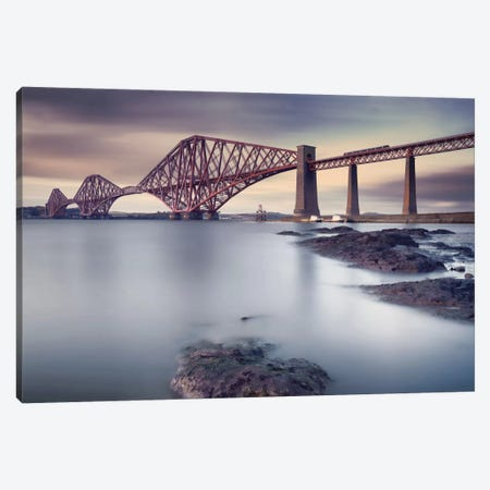 Forth Rail Bridge Canvas Print #OXM1768} by Martin Vlasko Canvas Print