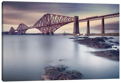 Forth Rail Bridge Canvas Art Print