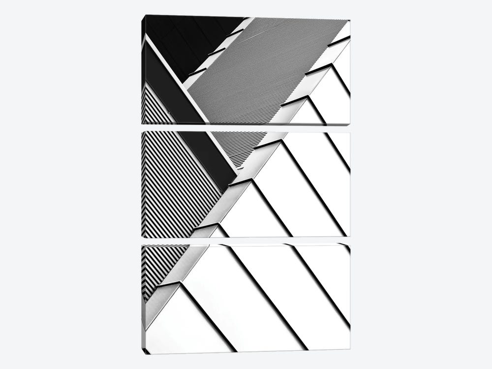 Low Rising by Paulo Abrantes 3-piece Canvas Art Print