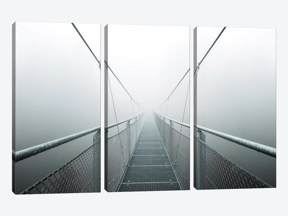 The Path To Infinity by Max Zimmermann 3-piece Canvas Art Print