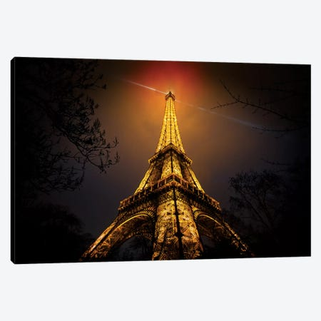 La Tour Eiffel Canvas Print #OXM178} by Clemens Geiger Canvas Art