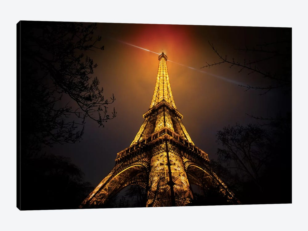 La Tour Eiffel by Clemens Geiger 1-piece Canvas Art Print