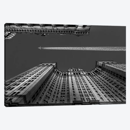 Flight Over Manhattan Canvas Print #OXM1799} by Michael Jurek Canvas Wall Art