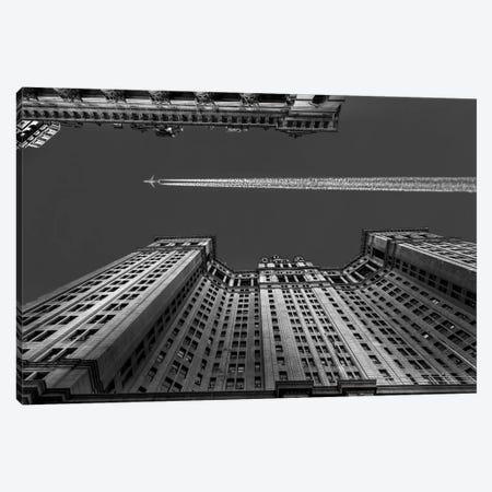 Flight Over Manhattan Canvas Print #OXM1799} by Michael Jurek Canvas Wall Art