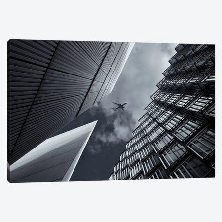 Skyway 3-Piece Canvas #OXM1802} by Michael Oates Canvas Artwork