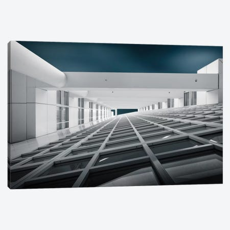 Corridors Of Power Canvas Print #OXM1809} by Michiel Hageman Canvas Art