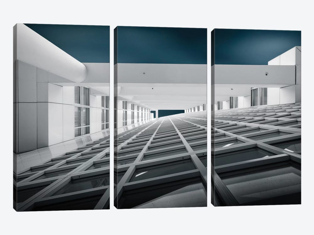 Corridors Of Power by Michiel Hageman 3-piece Art Print