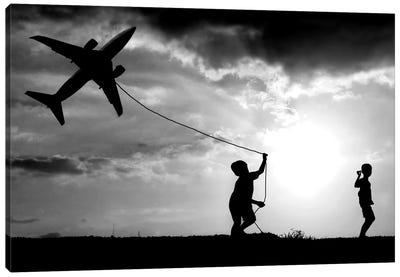 Fly My Plane Canvas Art Print