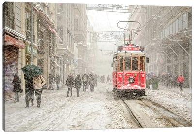 Beyoğlu, Istanbul, Turkey Canvas Art Print
