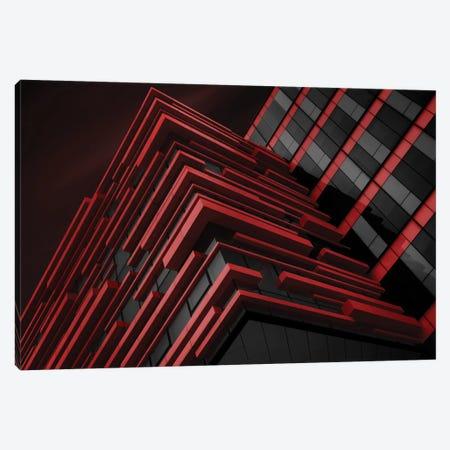 Blood Stream 3-Piece Canvas #OXM1864} by Nadav Jonas Canvas Print