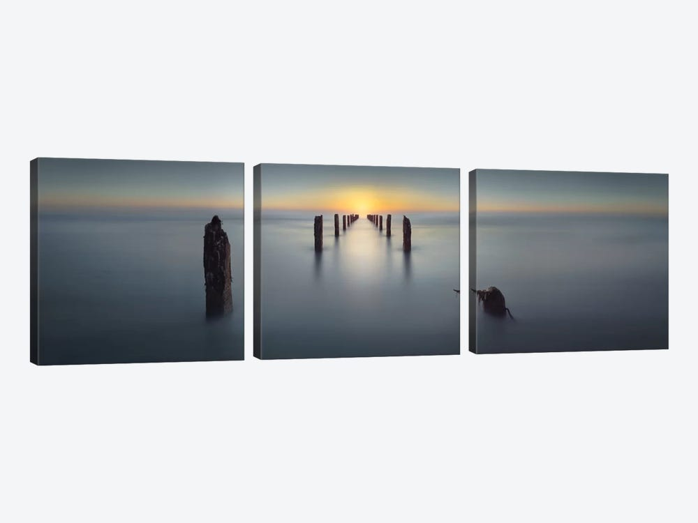 Last Light by Nadav Jonas 3-piece Canvas Artwork