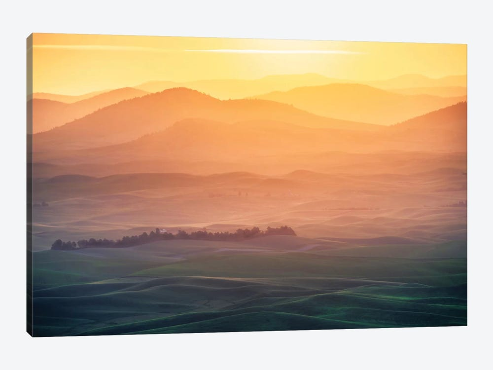 Dreamy Morning by Naphat Chantaravisoot 1-piece Canvas Art