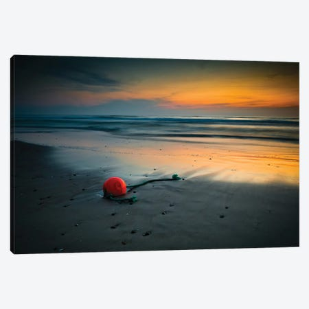 A Night In June Canvas Print #OXM1883} by Niels Christian Wulff Canvas Art
