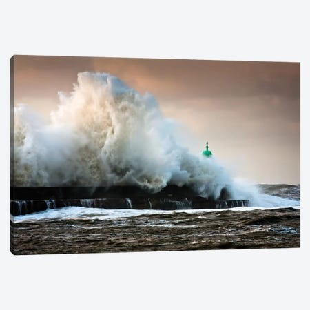 The Wall Canvas Print #OXM1884} by Niels Christian Wulff Canvas Art Print