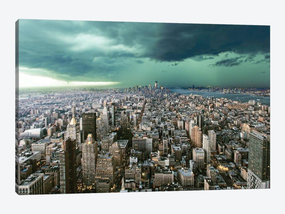 New York Under Storm by Pagniez 1-piece Canvas Art