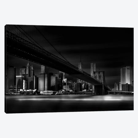 Gotham City Canvas Print #OXM1947} by Peter Futo Canvas Art