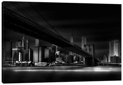 Gotham City Canvas Art Print