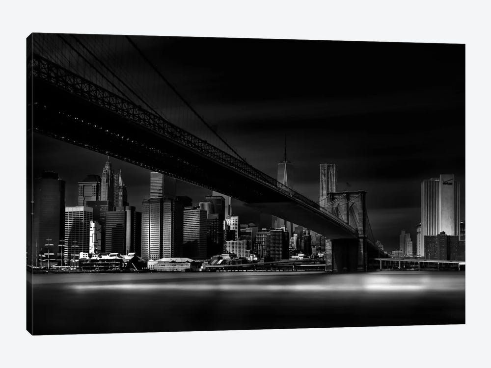 Gotham City by Peter Futo 1-piece Canvas Artwork