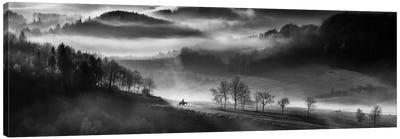 Morning Ride Canvas Art Print