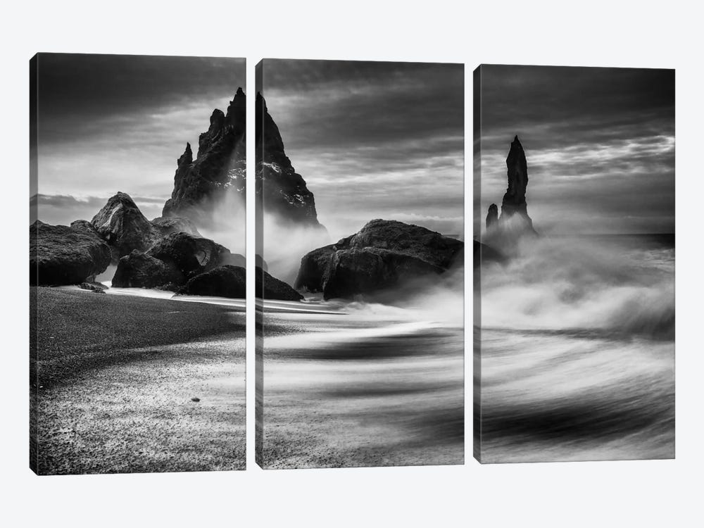 Iceland Rocks by Philip Eaglesfield 3-piece Canvas Art Print