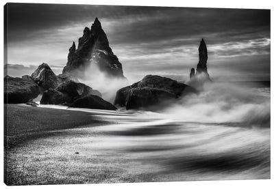 Iceland Rocks Canvas Art Print