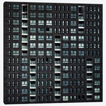 Living In The City Canvas Print #OXM1966} by Piet Flour Canvas Artwork