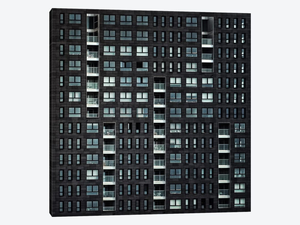 Living In The City by Piet Flour 1-piece Canvas Print