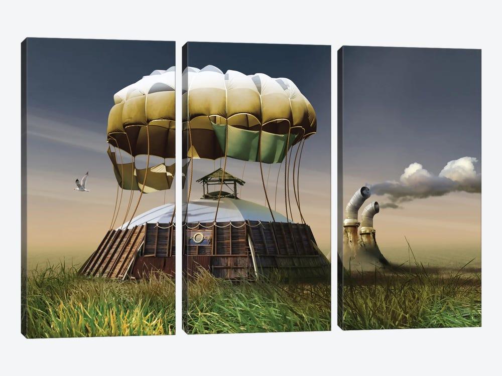 Untitled by Radoslav Penchev 3-piece Canvas Wall Art