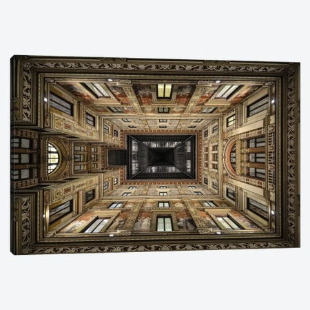 Galleria Sciarra, Rome, Lazio Region, Italy Canvas Print #OXM2003} by Renate Reichert Canvas Wall Art