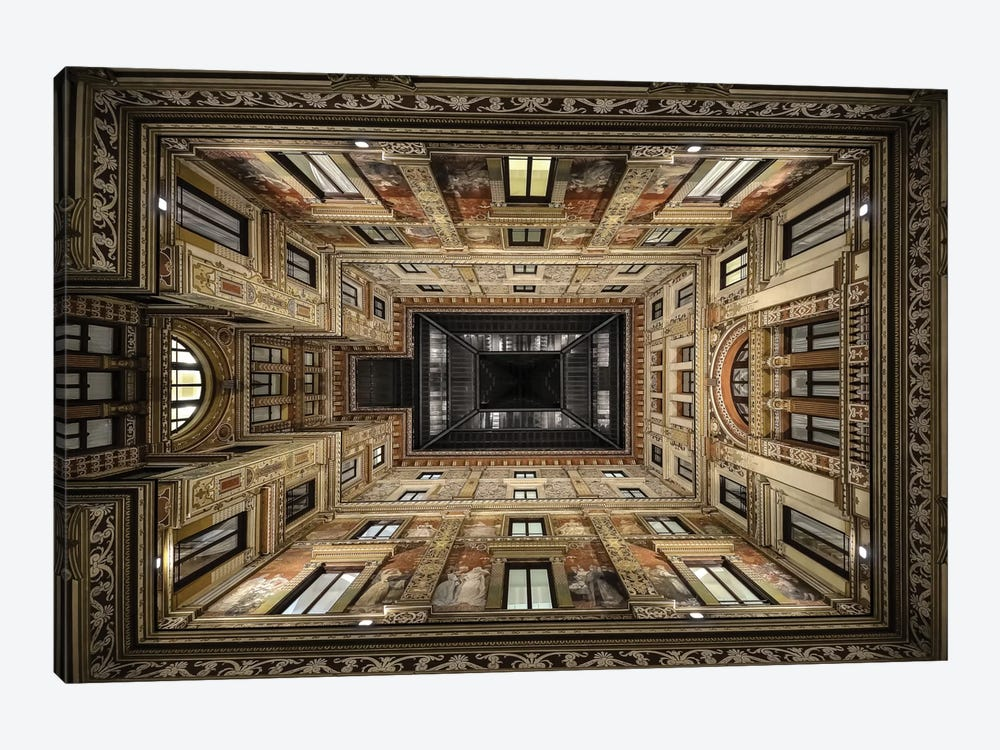 Galleria Sciarra, Rome, Lazio Region, Italy by Renate Reichert 1-piece Canvas Artwork