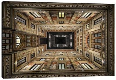 Galleria Sciarra, Rome, Lazio Region, Italy Canvas Art Print