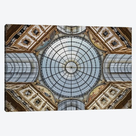 Galleria Vittorio Emanuele II, Milan, Lombardy Region, Italy Canvas Print #OXM2004} by Renate Reichert Canvas Print