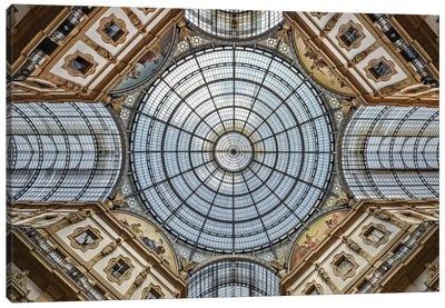 Galleria Vittorio Emanuele II, Milan, Lombardy Region, Italy Canvas Art Print