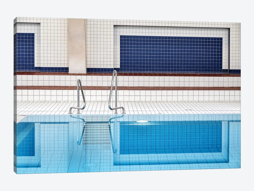 Swimming Pool by Renate Reichert 1-piece Art Print