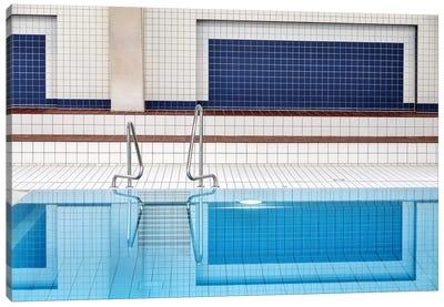 Swimming Pool Canvas Art Print