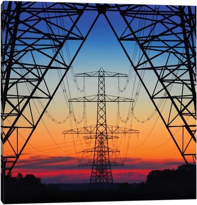 Electric Coloured Sky Canvas Art Print