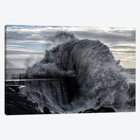 Danger Pier Canvas Print #OXM2024} by Roberto Zanleone Art Print