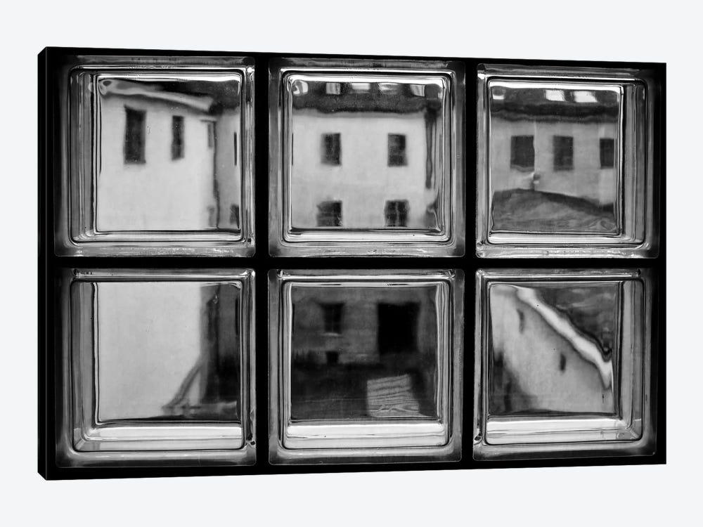 Rear Window by Roswitha Schleicher-Schwarz 1-piece Canvas Wall Art